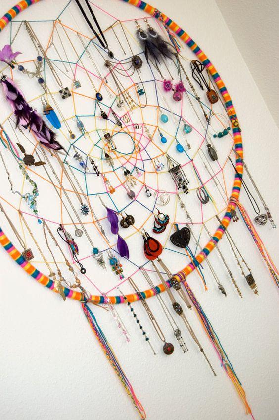 Embroidery Floss Dream Catcher