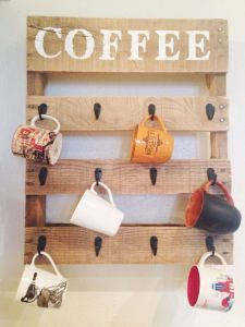 Wood Crafts Cup Hanger