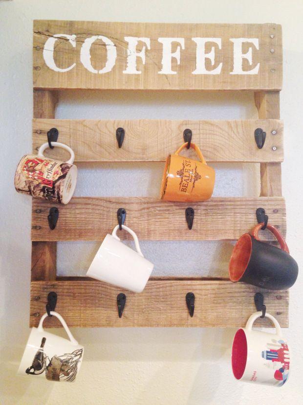 Wood Crafts Cup Hanger