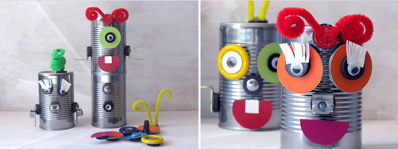 Camping Crafts Robot