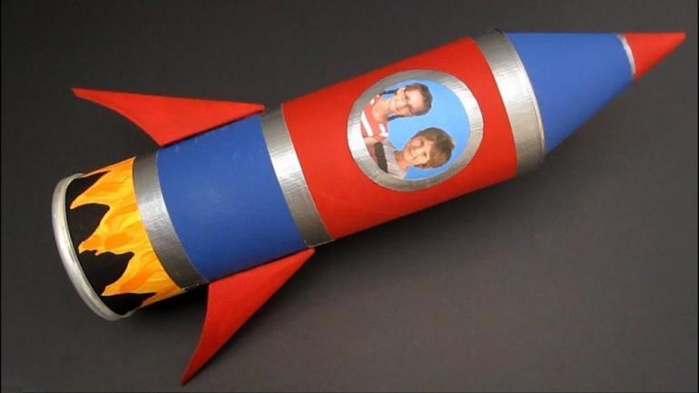 Crafts for Toddlers Rocket