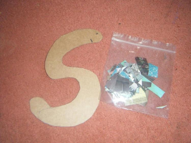 Crafts for Toddlers Snake