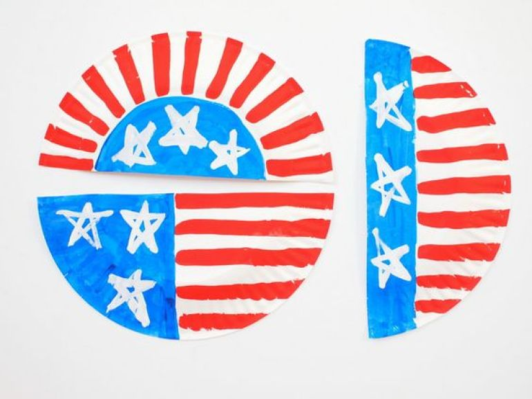 Paper Plate Craft Fourth of July