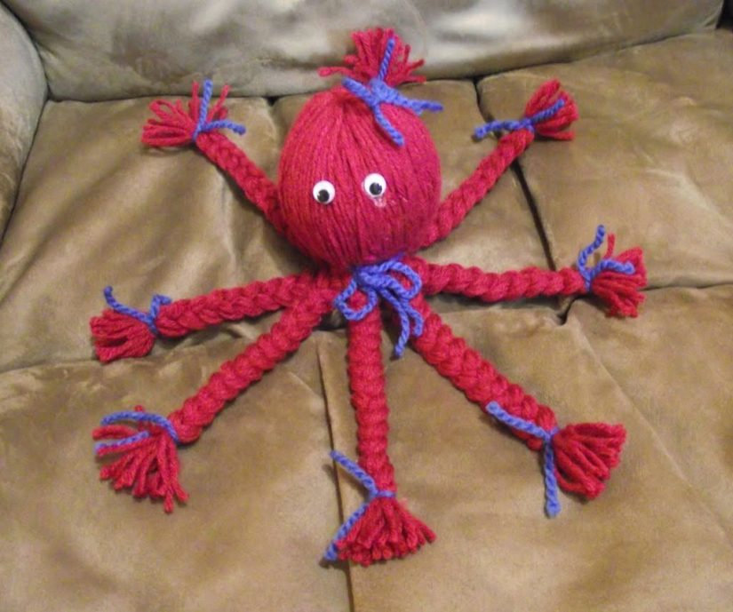 Simple Craft Octopus