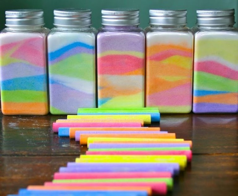 Cool Crafts for Kids Rainbow Jar
