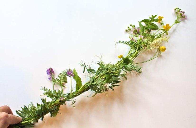 Spring Crafts Flower Bracelet