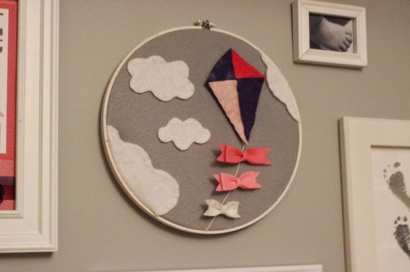 Spring Crafts Kite Hoop