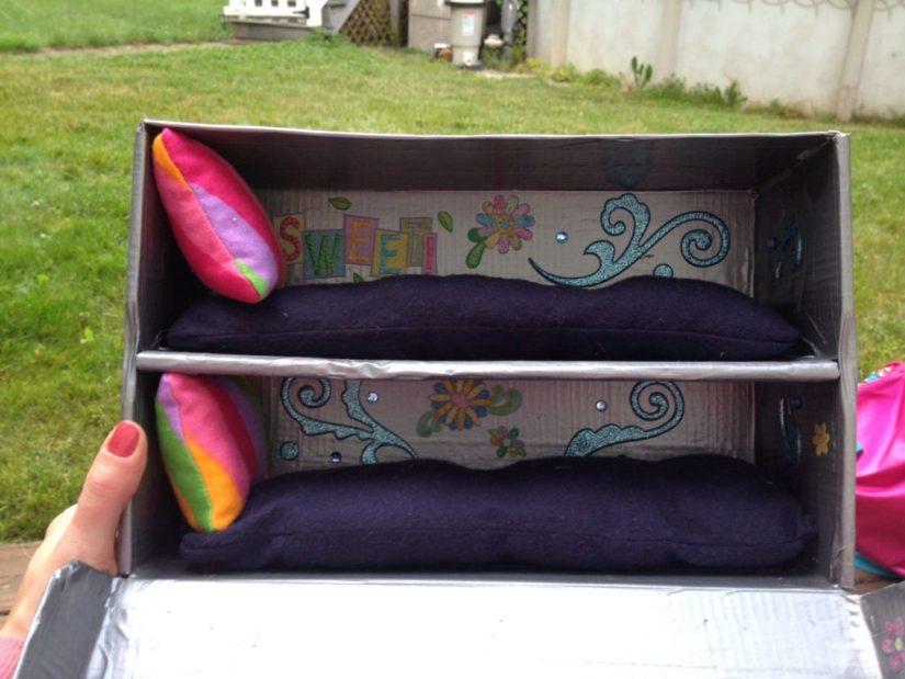 Craft Box Barbie Bed
