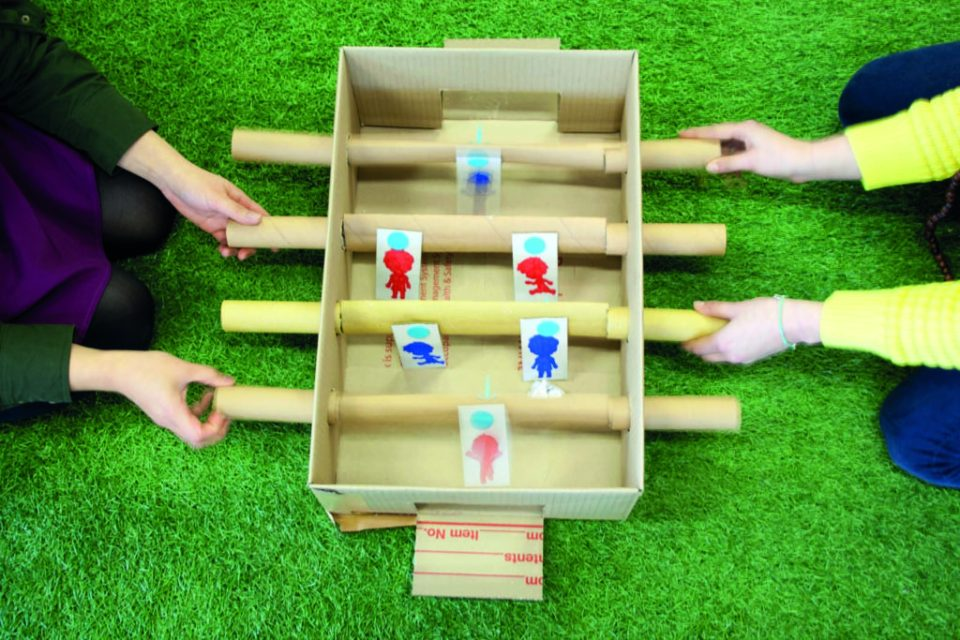 Craft Box Foosball Pitch