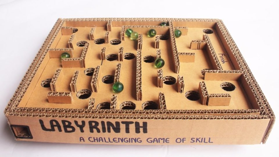 Craft Box Marble Labyrinth