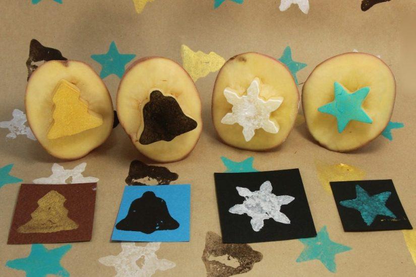 Craft Paint Potato