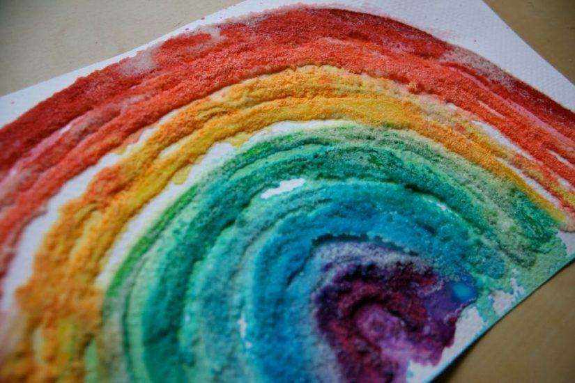 Craft Paint Rainbow