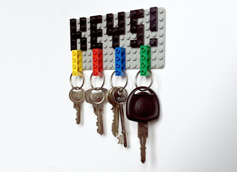 Summer Craft Key Holder