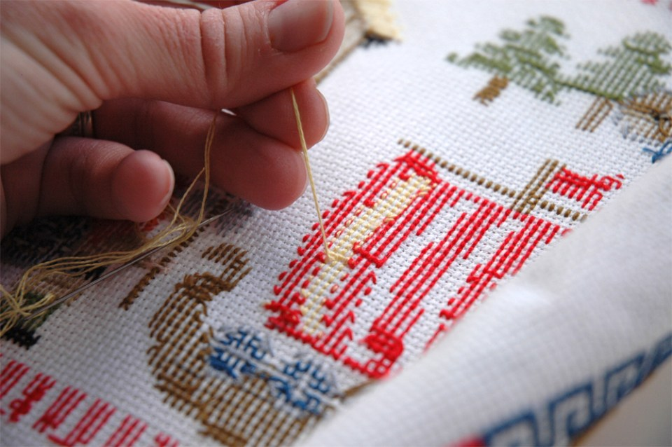 Cross Stitch for Beginners Meaning
