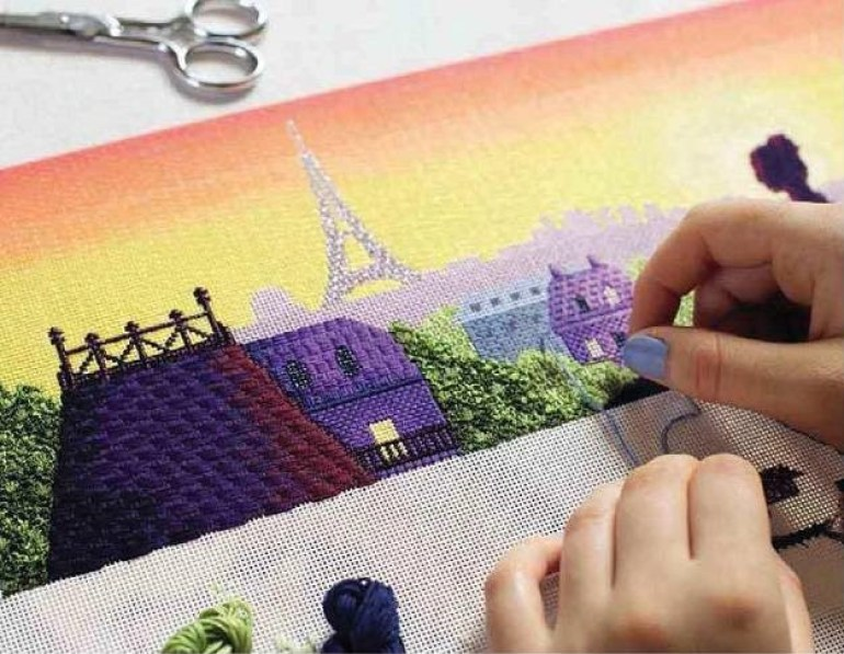Cross Stitch for Beginners Needlepoint