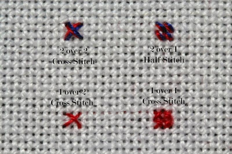 Cross Stitch for Beginners 1 over 2