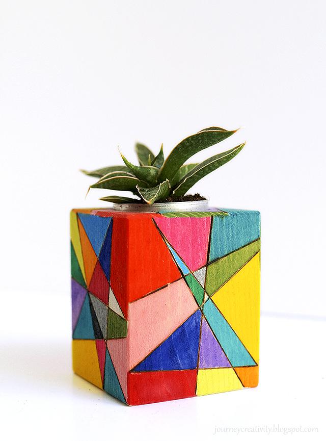 Wood Crafts for Kids Pots