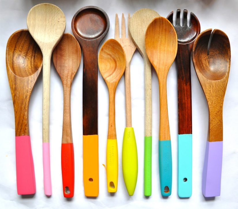 Wood Crafts for Kids Rainbow Kitchen