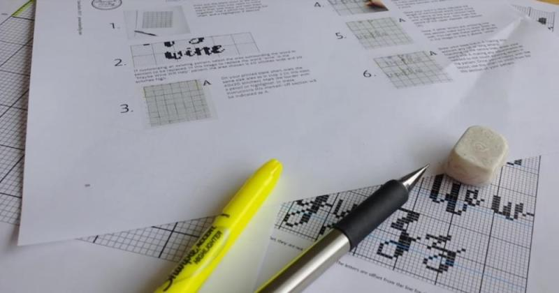 Cross Stitch Fonts You Need