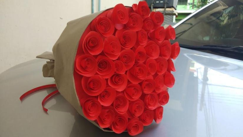 Paper Flower Bouquet Final