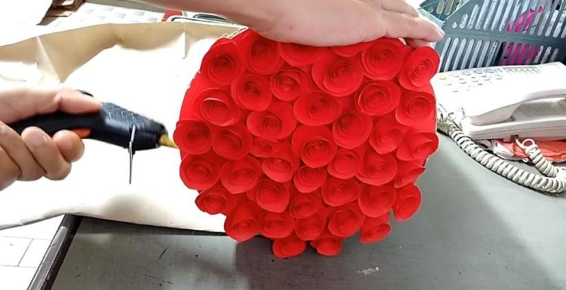 Paper Flower Bouquet Paper Sack