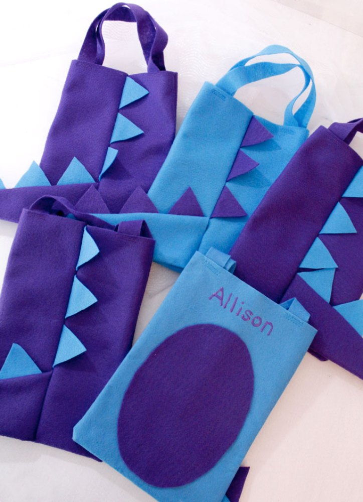 Dinosaur Craft Party Bags