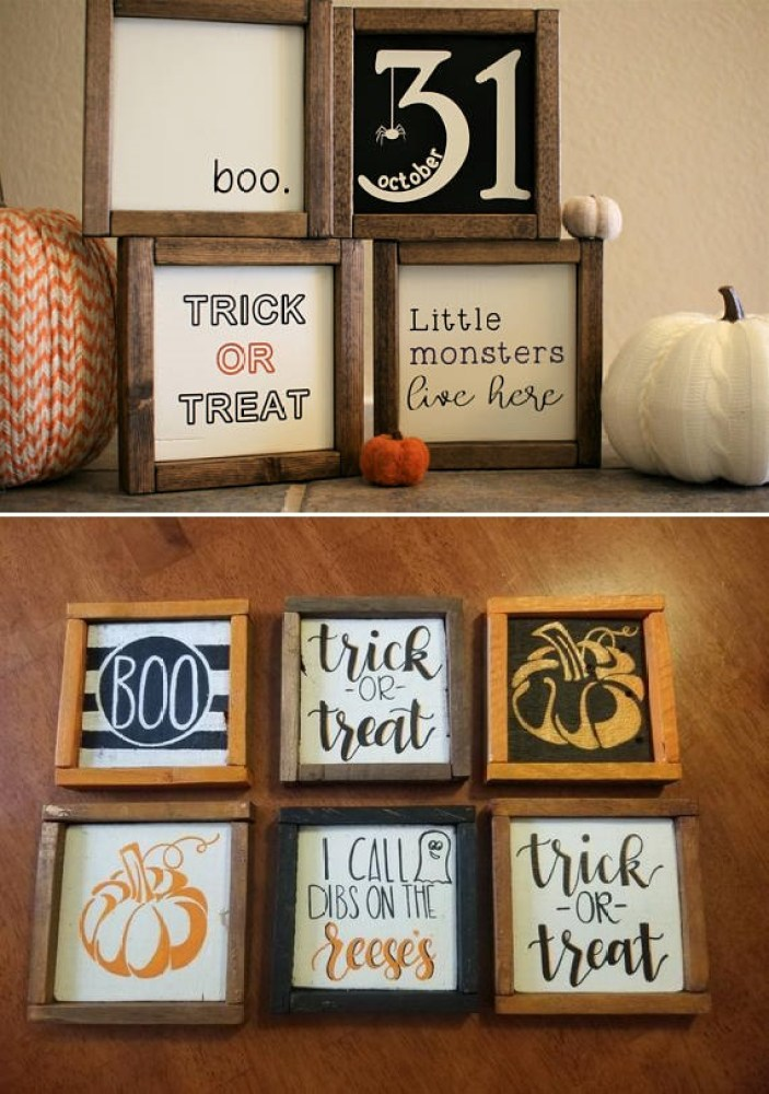 Fall Crafts Wood Signs