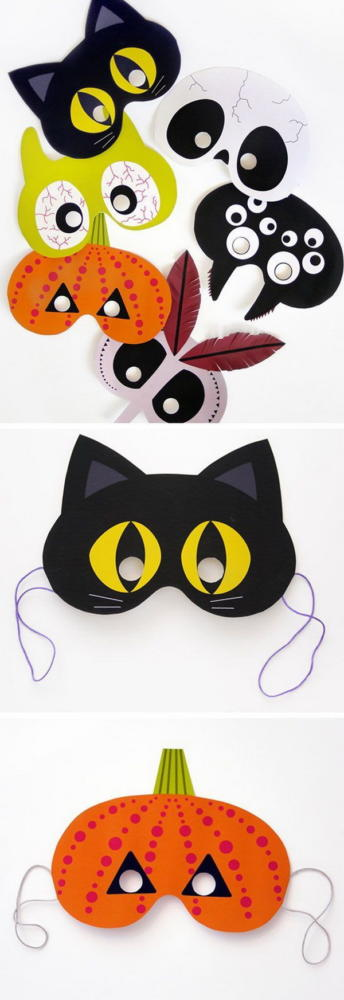 Holiday Crafts for Kids Animal Masquerade