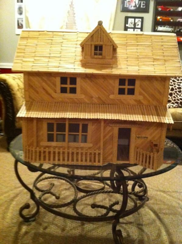 Popsicle Stick House Dream