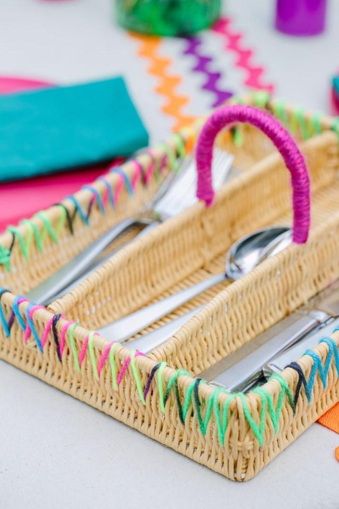 Yarn Crafts Basket