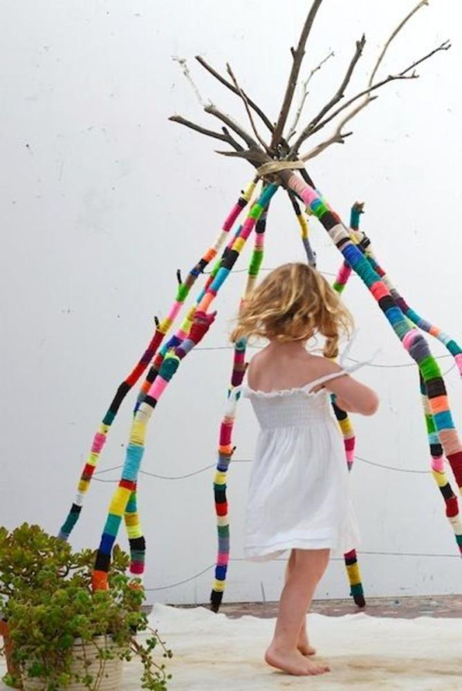 Yarn Crafts Teepee