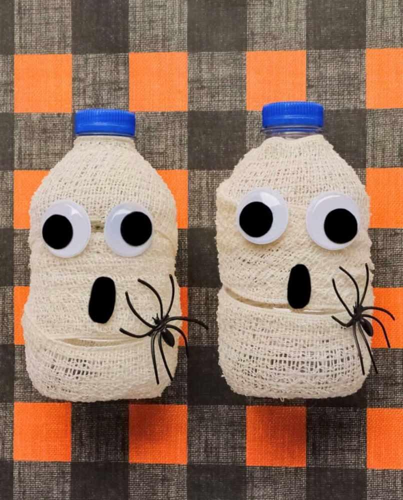 Crafts for Bottles Mummy