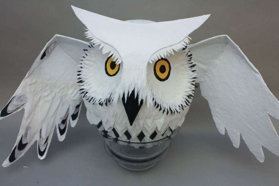 Crafts for Winter Owl Pinata
