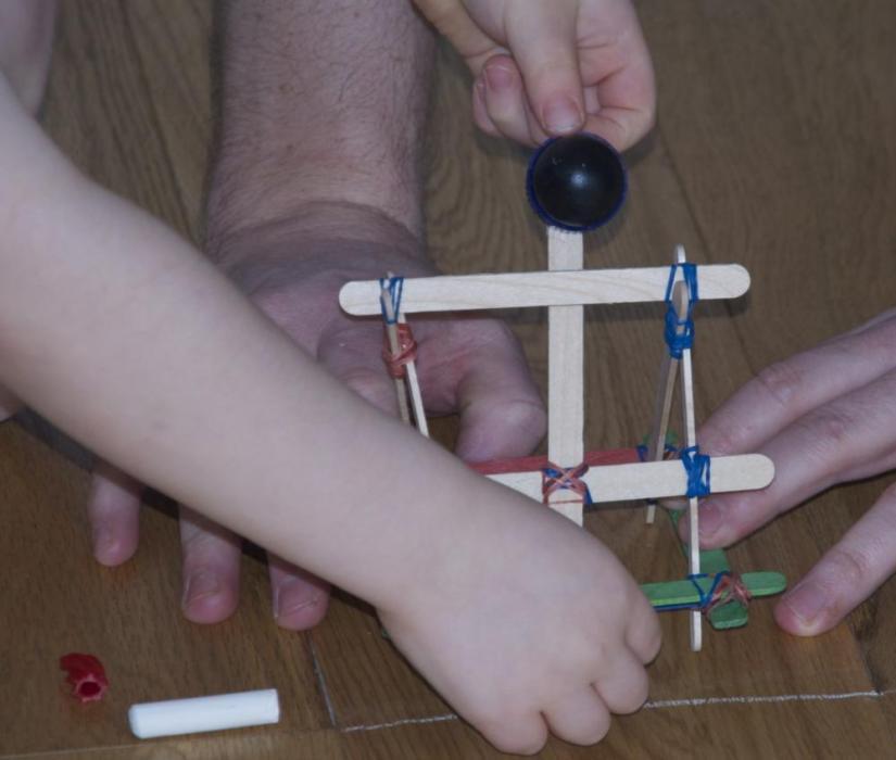 How to Make a Catapult Sticks