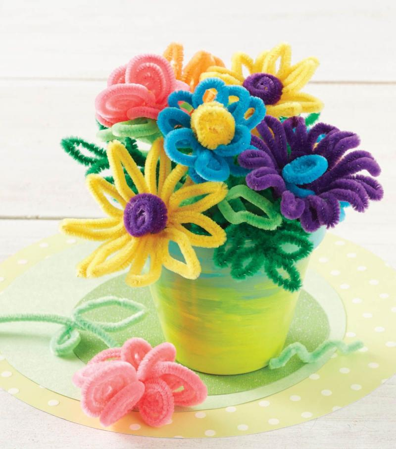 crafts with pipe cleaners and pony beads