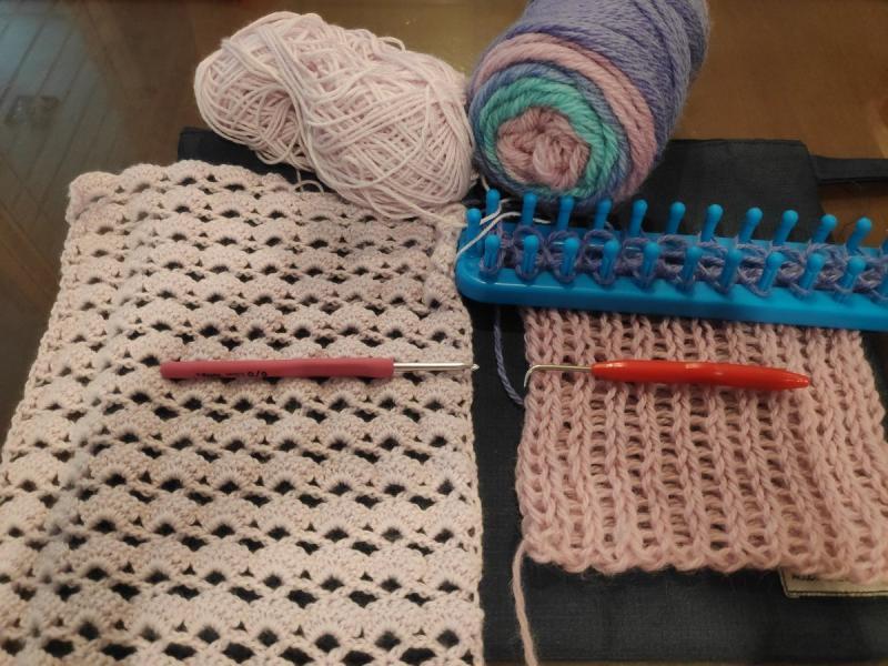crochet and knitting tools app