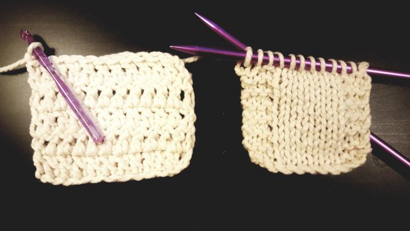 crochet vs knitting yarn