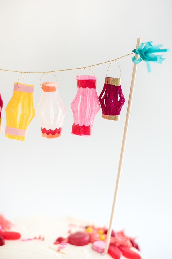diy paper cup lantern making