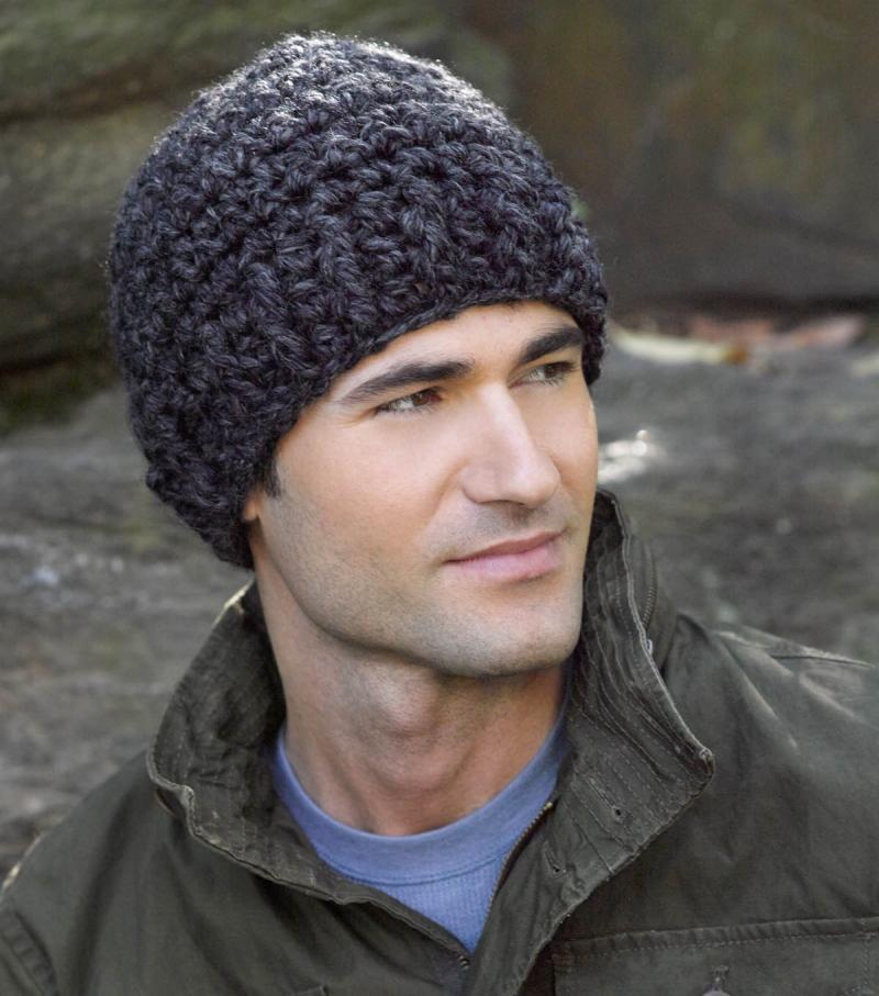 mens crochet helmet hat pattern