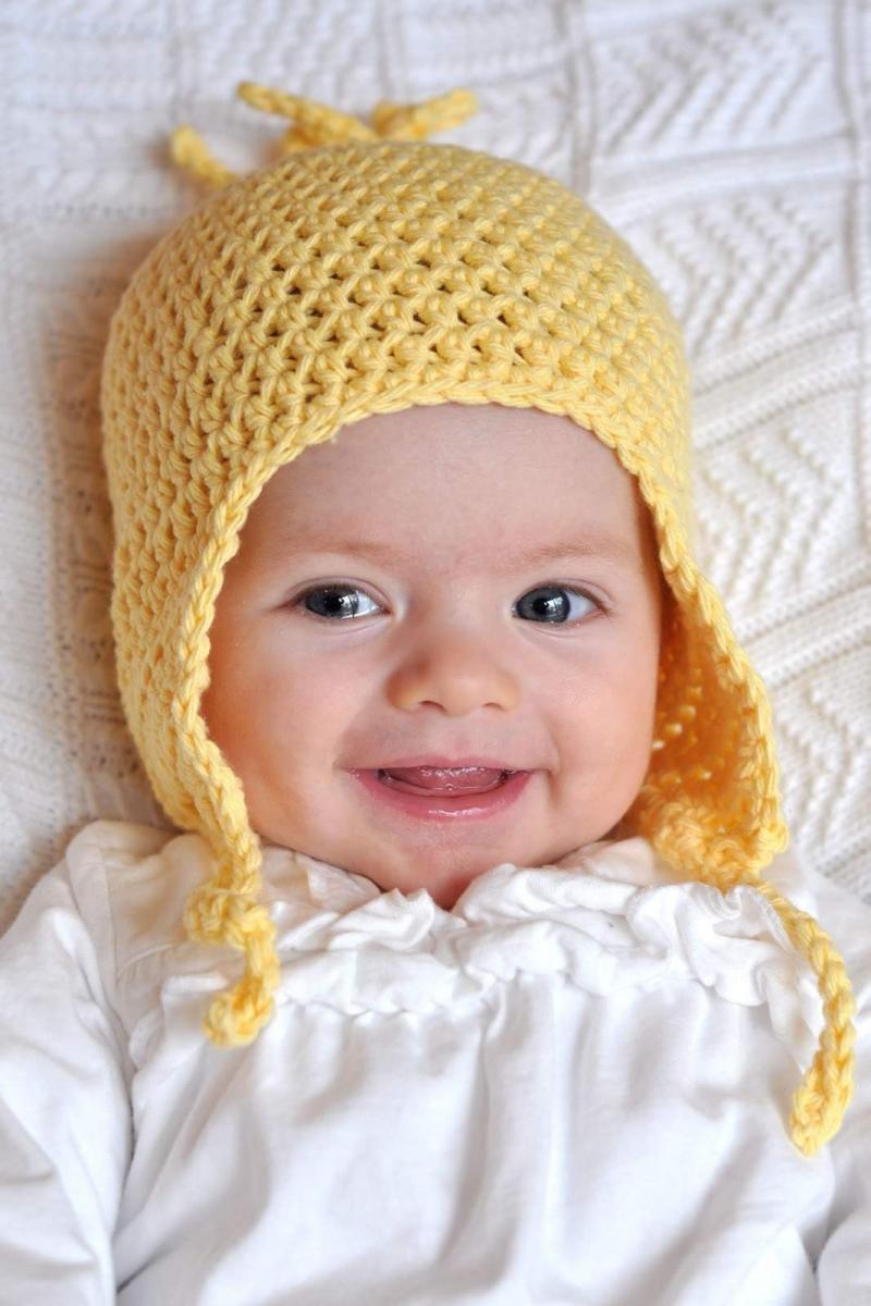 crochet an infant hat