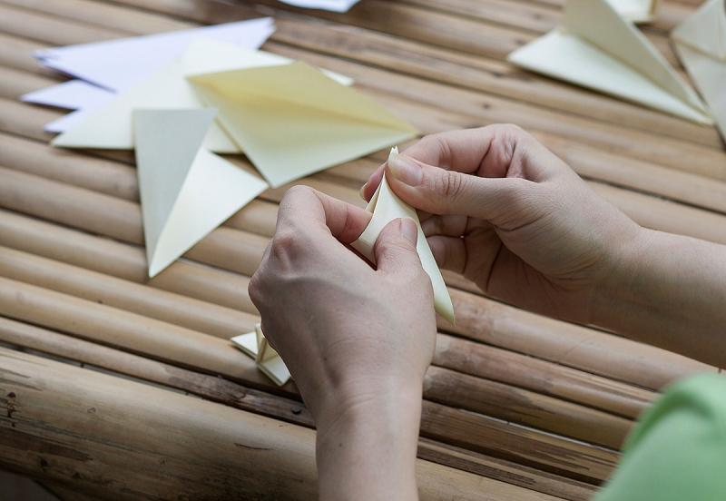 history of origami tagalog
