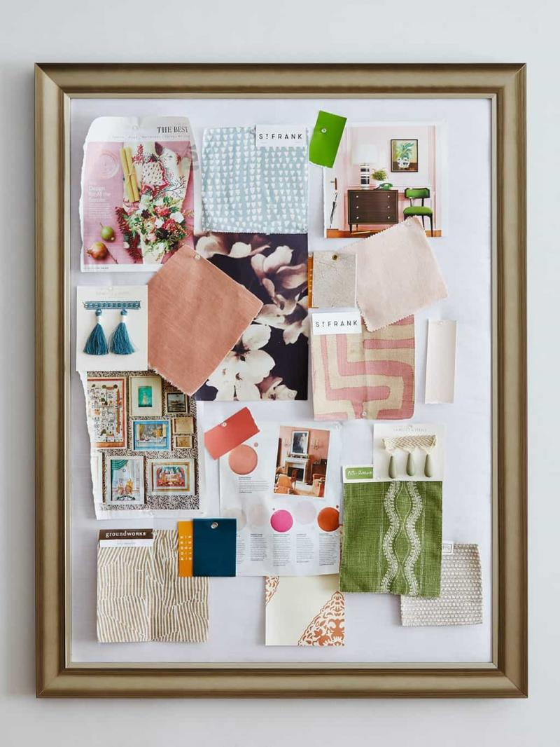 diy cork pin board
