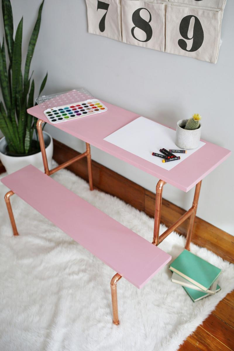 diy pallet office desk