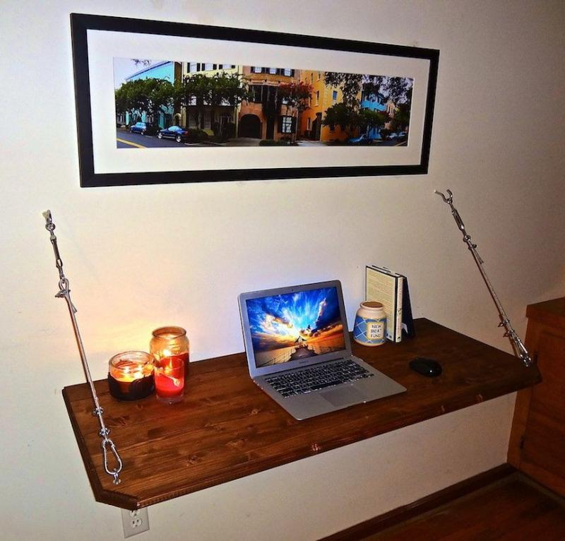 diy office desk woodworking
