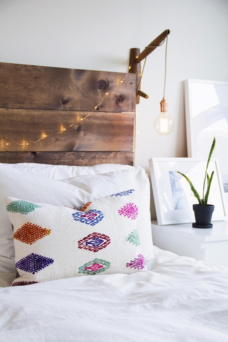 diy wood headboard youtube