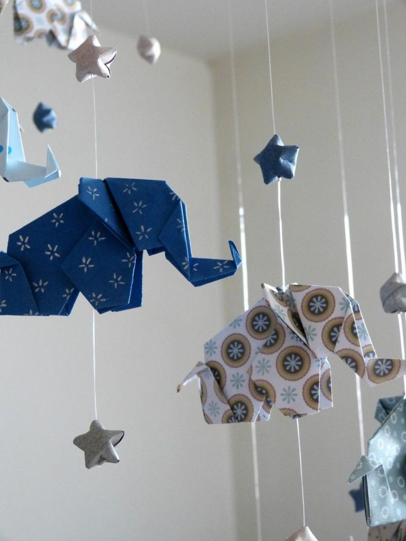 how to make paper elephant origami