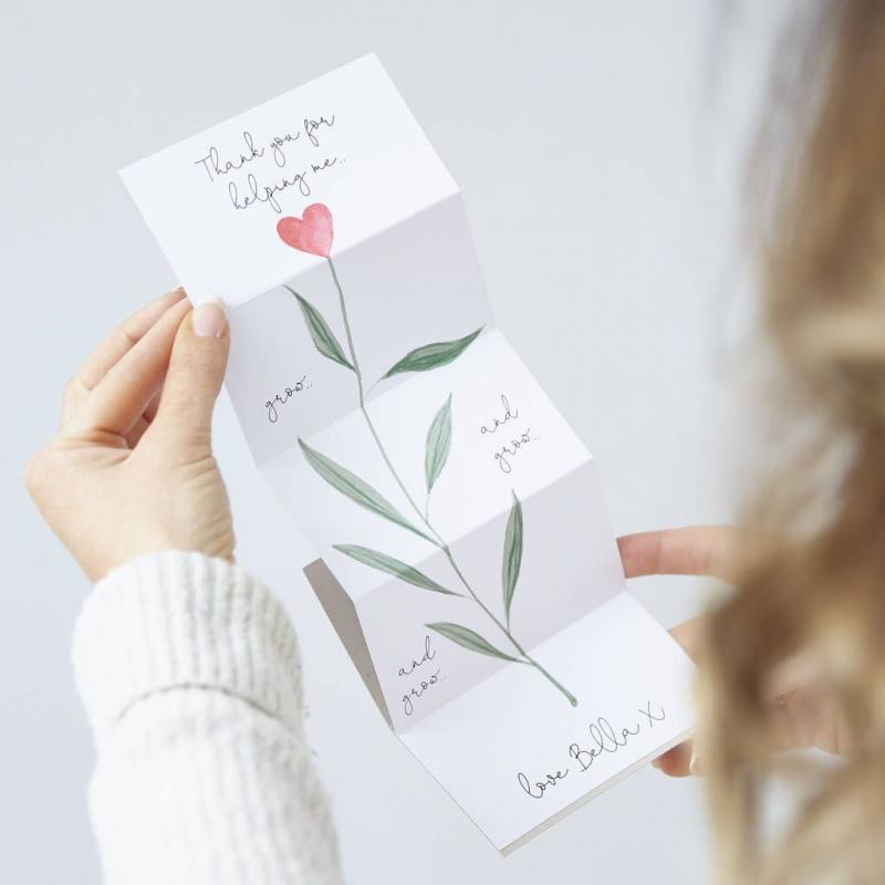 diy baby gift thank you cards
