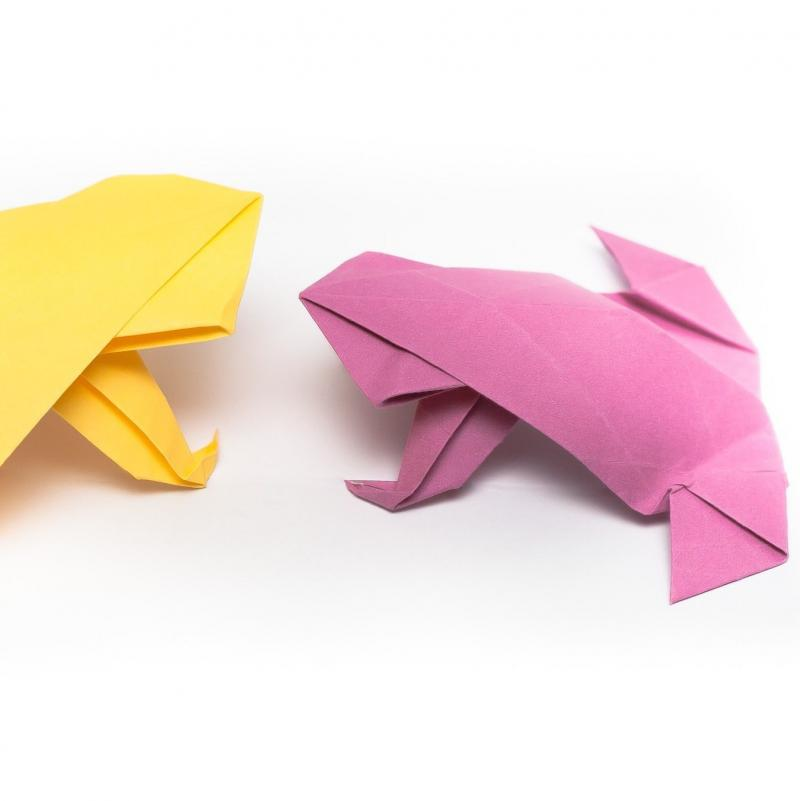 frog napkin fold