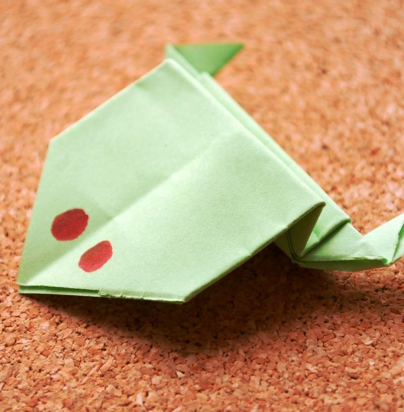 origami frog directions