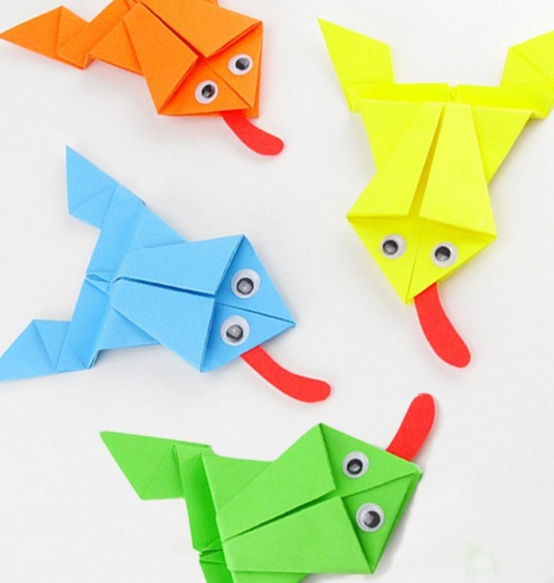 frog origami video